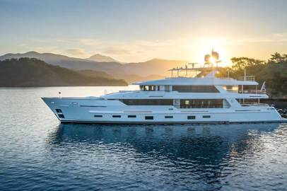 The 43-metre M/Y Sunrise