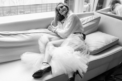 Georges Chakra: Fall Winter 2020-2021 Couture Collection with Olivia Palermo