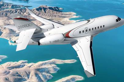 Falcon 2000LXS the most popular jet for business travel
