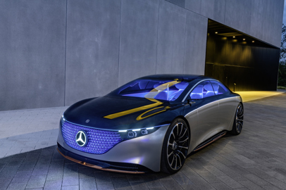 Mercedes-Benz. How designers showcase the luxury of the future