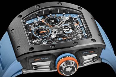 Grey Cermet in the new RM 11-05 by Richard Mille