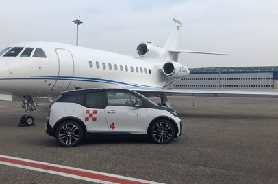 Milano Prime and BMW renew their partnership with new full-electric cars for business aviation flights