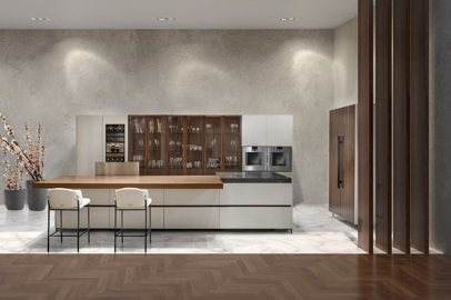 The first kitchen by Aston Martin