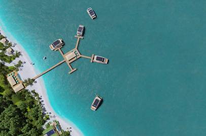 Silent-Yachts launches a unique solar powered resort solution with new floating villas concept