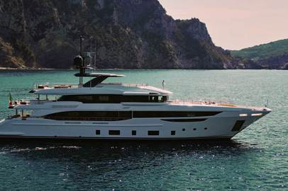 Benetti delivers the first diamond 145