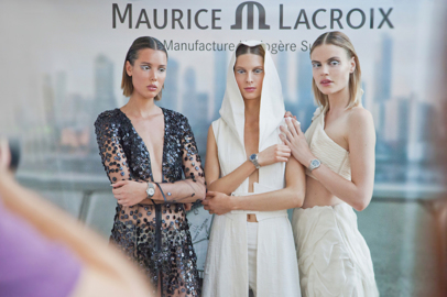 Maurice Lacroix teams up with talented stylist Adeline Ziliox