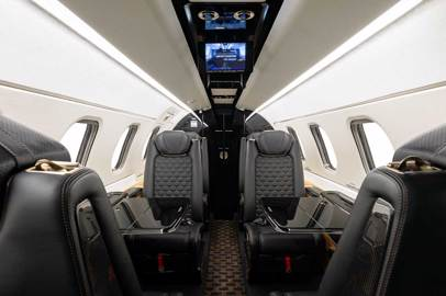 Embraer delivers first Phenom 300E with new Bossa Nova interior to PALS co-founder