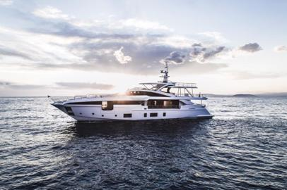 Azimut Yachts at the Monaco Yacht Show with three iconic models