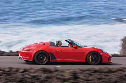 New 911 Speedster goes into production - 510 PS and limited edition