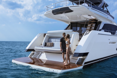 Ferretti Yachts 720: inhabiting the sea with style