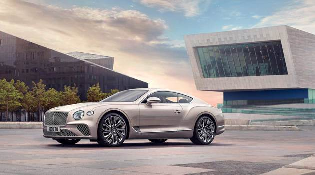 Bentley: new Continental GT Mulliner coupé debuts at Salon Privé