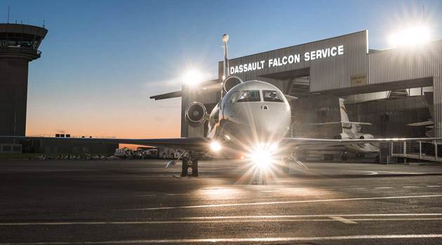Dassault Aviation Leads Business Jet Industry in Product Support