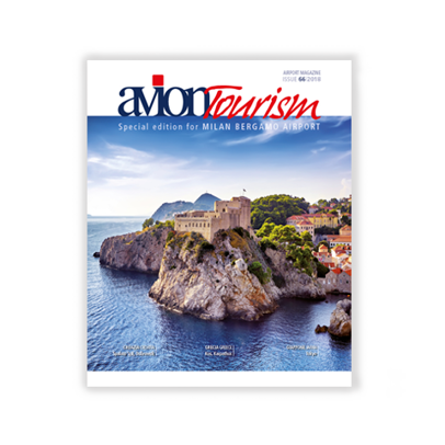 AVION TOURISM #66 Special Edition for Milan Bergamo Airport