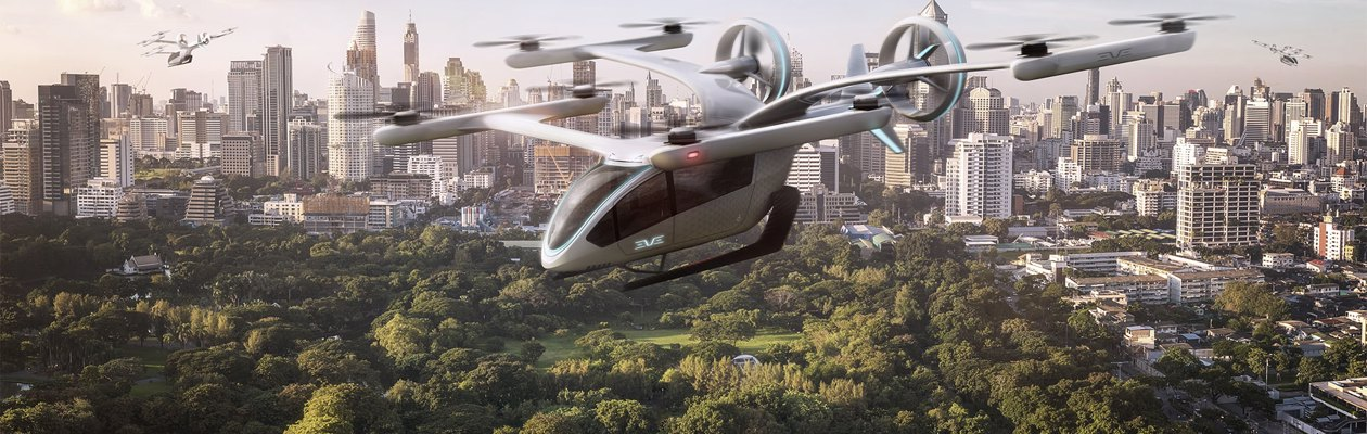 Eve, the first spin-off from EmbraerX, for the future of Urban Air Mobility