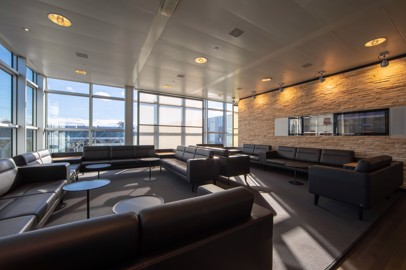 The Swiss Lounges in Geneva Airport