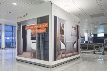 "Munich Airport welcomes the ""MeetingCab"" to Terminal 2"