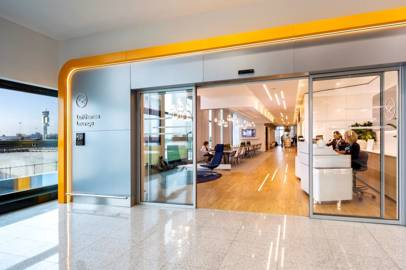 The new Lufthansa Lounge at Milan's Malpensa Airport