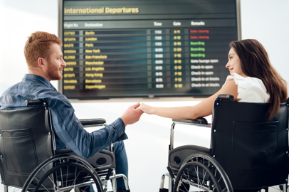 Rights of the passenger with disability and reduced mobility
