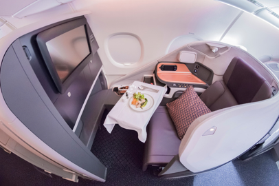 In-flight wellness of Singapore Airlines