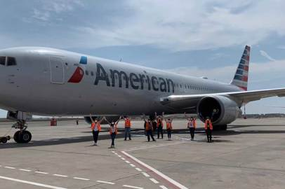 Covid-19. A mission to bring Americans home for American Airlines