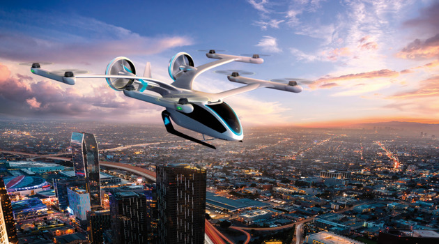 EmbraerX unveils new flying vehicle concept