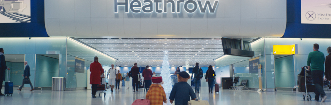Nuovo video dell'Aeroporto di Londra Heathrow per il Natale 2018