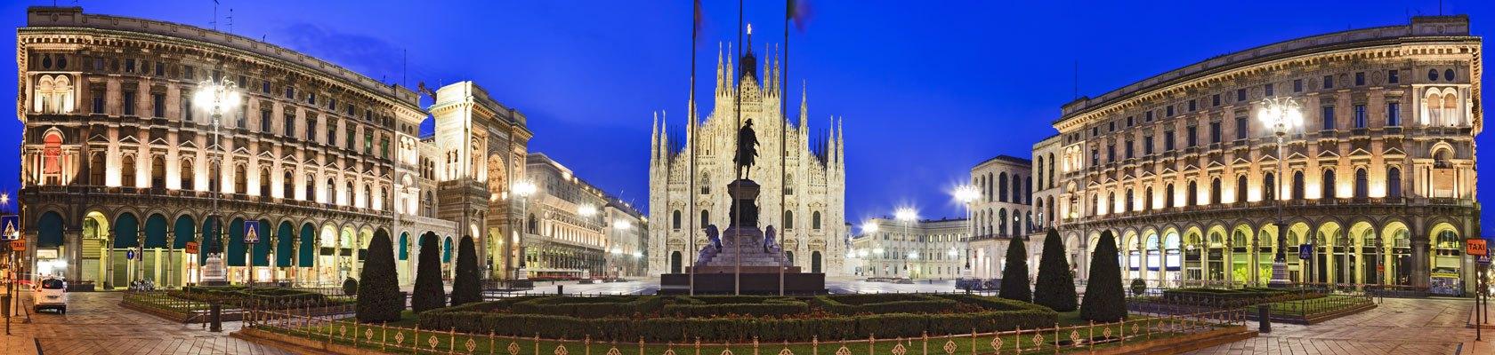 Экскурсия в Милане, прогулка по центру города