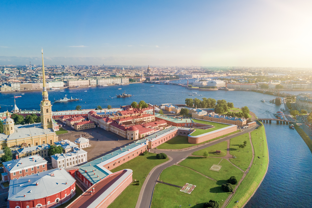 Peter and Paul Fortress, St. Petersburg.