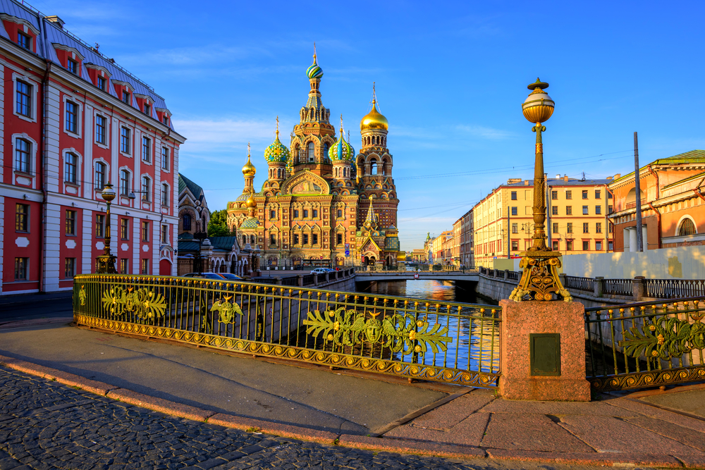 Church of Our Saviour on Spilled Blood, St. Petersburg.