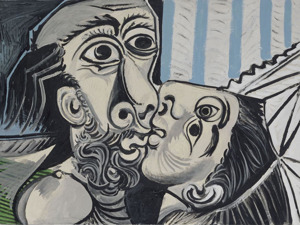 The exhibition of Picasso in Milan
