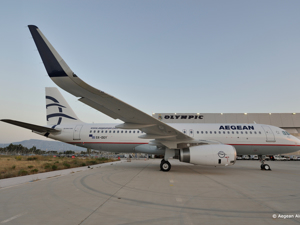 Aegean Airlines - Avion Tourism