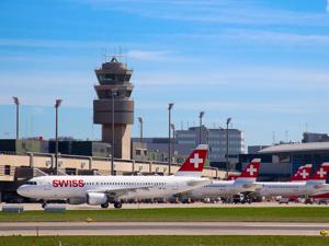 Zurich Airport Zrh Avion Tourism
