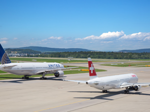 Zurich Airport Zrh Avion Tourism