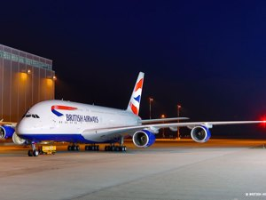 British Airways - Avion Tourism