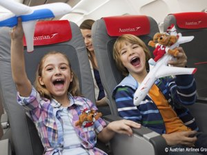 Austrian Airlines - Avion Tourism