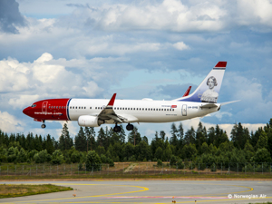 Norwegian Air - Avion Tourism