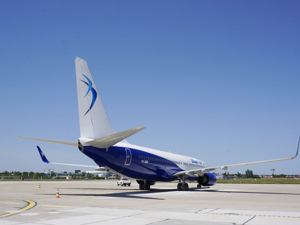 Blue Air - Avion Tourism