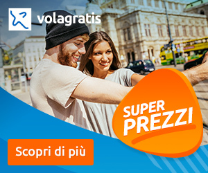 Volagratis Super Prezzi IT 8Bottom Home, Destinazioni, Aeroporti, Compagnie, News, PostNews