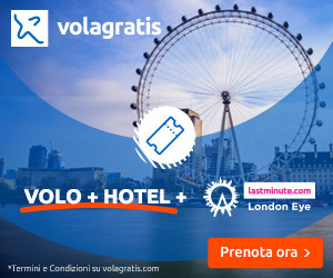 Volagratis Londra volo+hotel IT 8Bottom Home, Destinazioni, Aeroporti, Compagnie, News middle, PostNews