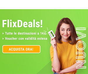 Flixbus Deals IT 8Bottom Home, Destinazioni, Aeroporti, Compagnie, News middle