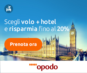 Opodo Volo + Hotel IT 8Bottom Home, Destinazioni, Aeroporti, Compagnie, News, PostNews