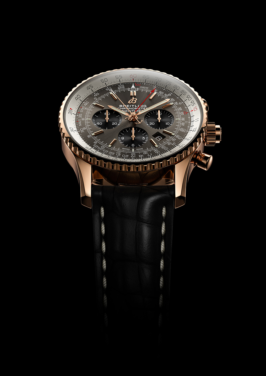 B03 Chronograph Rattrapante 45 / Copyright © Breitling per Avion Luxury