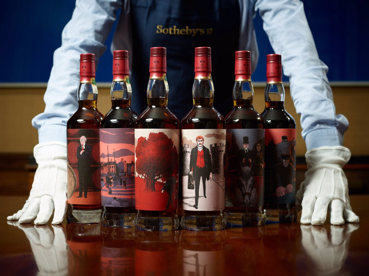 The Red Collection. Sotheby's Wine.