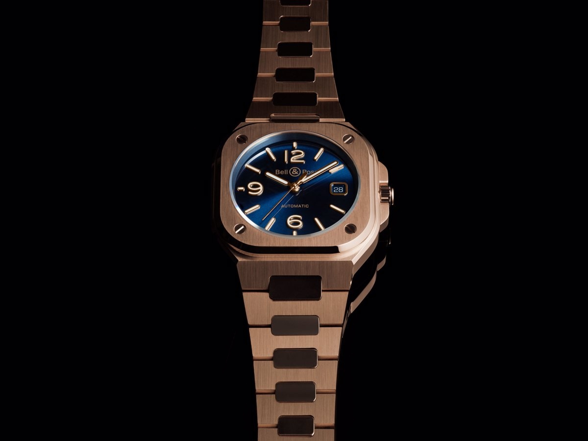 Orologio BR 05 Blue Gold di Bell & Ross