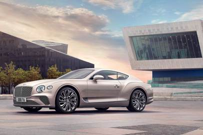 La nuova Bentley Continental GT Mulliner coupé debutta al Salon Privé