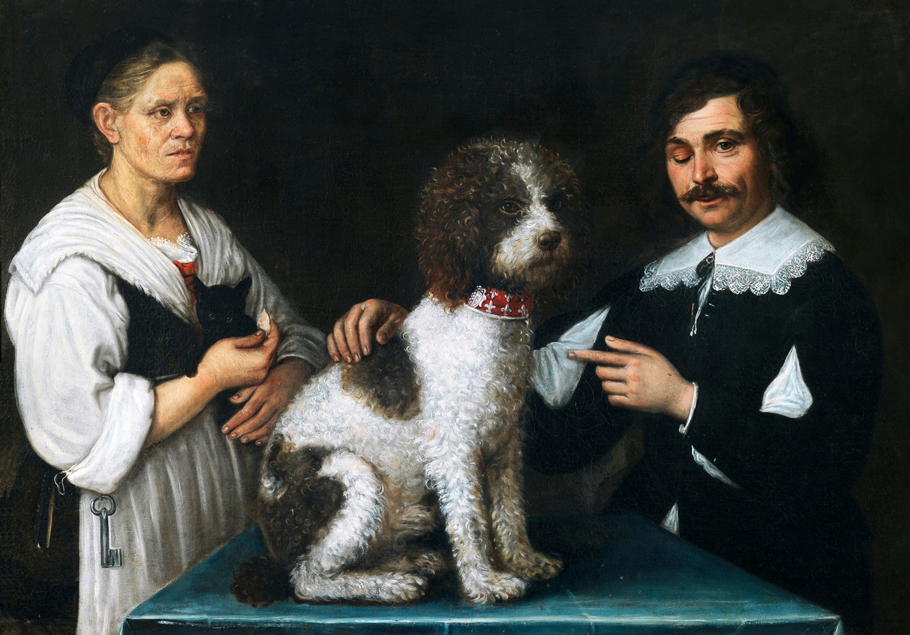 Risultati immagini per Venere, amore e cagnolino vestito da bambina