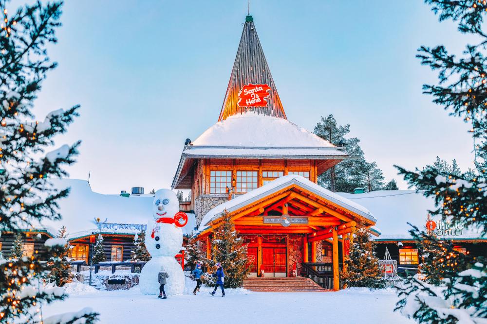 Indirizzo Di Babbo Natale Lapponia.Il Villaggio Di Babbo Natale A Rovaniemi In Finlandia