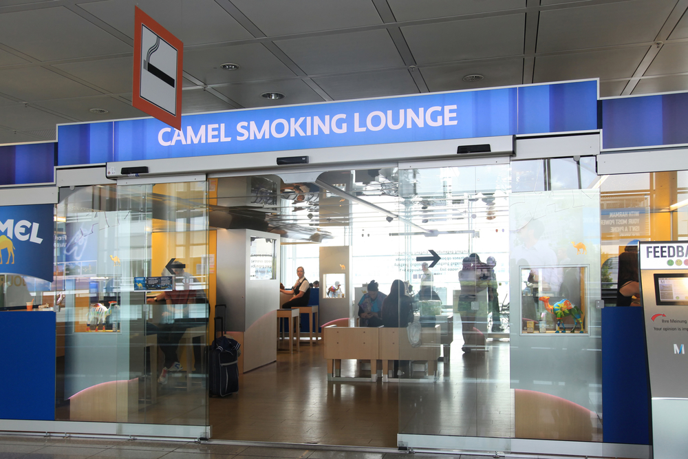 Sala Fumatori Malpensa : Aree fumatori