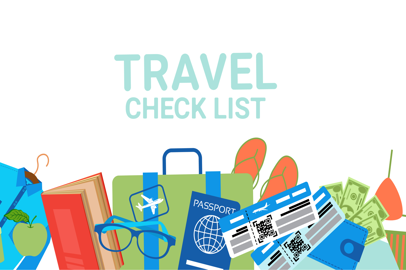 "L'indispensabile ""check list"" per i viaggi all'estero"