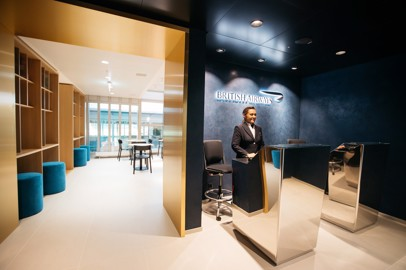 La nuova lounge di British Airways a Ginevra